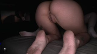 Gloryhole Swallow Rebel & Tabor Double Blowjob
